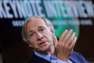 Bridgewater's Dalio Sees 70 Percent Chance of Recession Before 2020