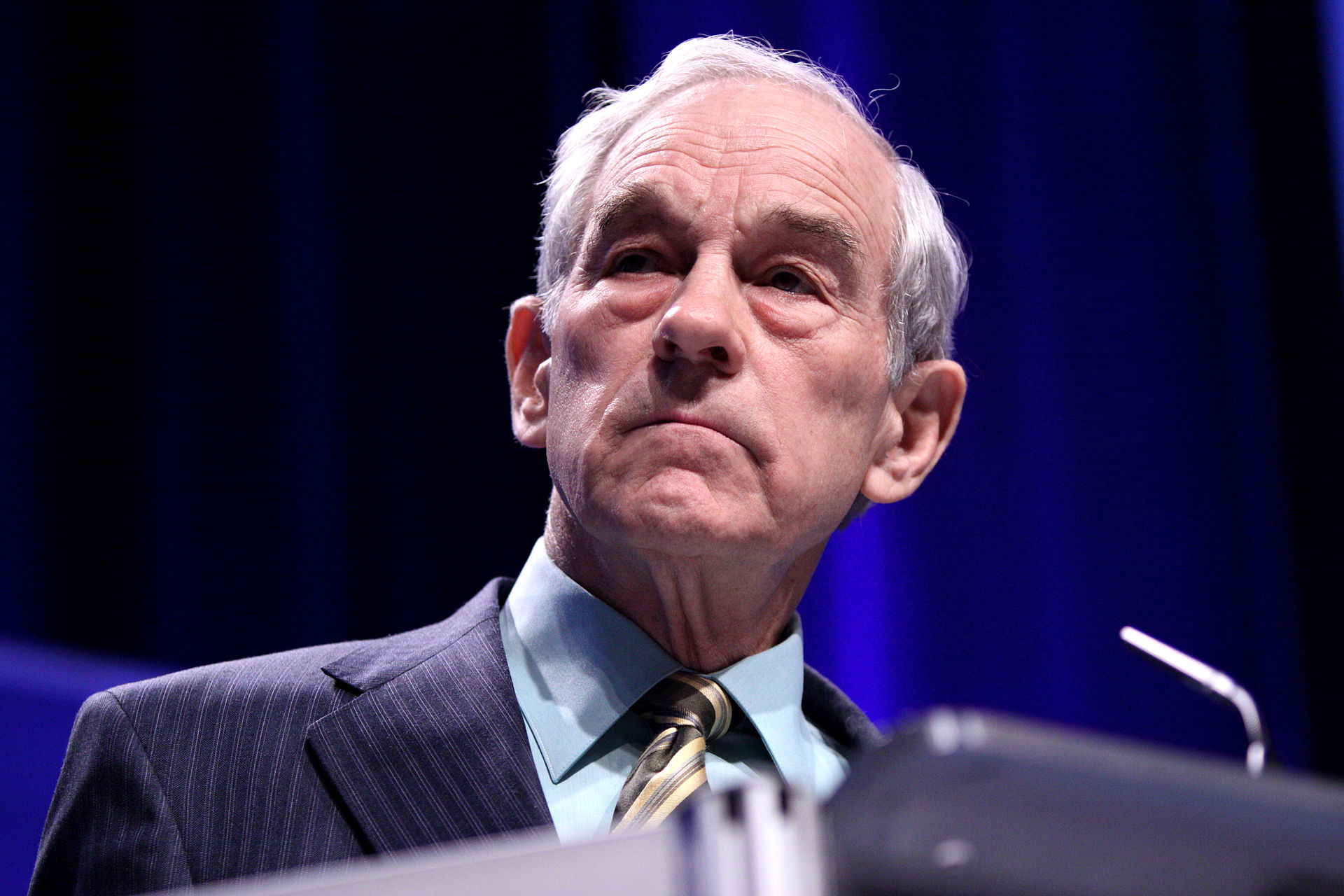 Ron Paul Calls for Market Meltdown, Warns That Stocks Are 'Destined to Go down' as Much as 50 Percent