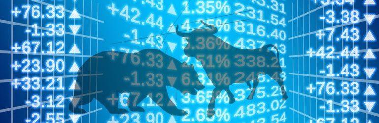 Bull stock exchange and bear market indicator