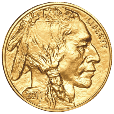 Gold coin - American buffalo