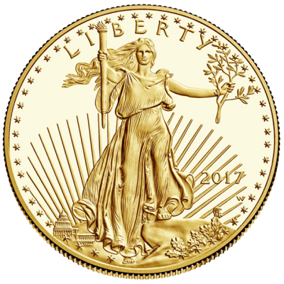 Gold bullion - American Eagle