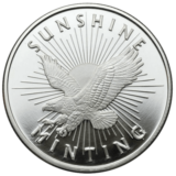 1 OZ SILVER ROUNDS