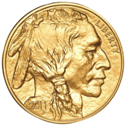 gold-american-buffalo-coin-front