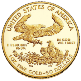 United States Mint Gold American Eagle 1 Oz