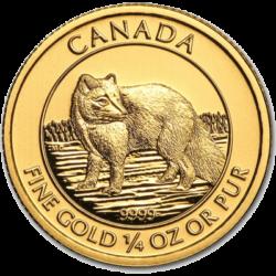 ROYAL CANADIAN MINT  GOLD ARCTIC FOX