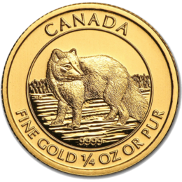 Royal Canadian Mint Gold Artic Fox