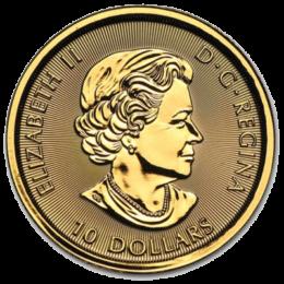 ROYAL CANADIAN MINT GOLD GYRFALCON** Back