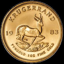 SOUTH AFRICAN MINT GOLD KRUGERRAND