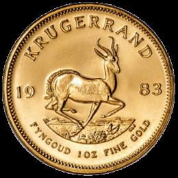 South African Mint Gold Krugerrand Back