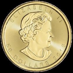 ROYAL CANADIAN MINT  GOLD MAPLE LEAF