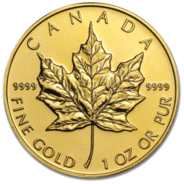 Gold Maple Leaf Coin