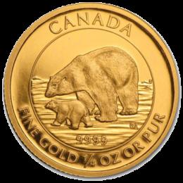 Royal Canadian Mint Gold Polar Bear & Cub