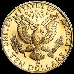 UNITED STATES MINT GOLD US BU PROOF $10