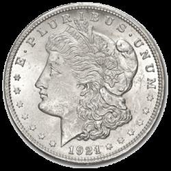 UNITED STATES MINT  MORGAN SILVER DOLLAR