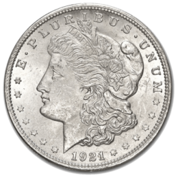 United States Mint Morgan Silver Dollar Front
