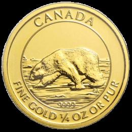 Royal Canadian Mint Gold Polar Bear
