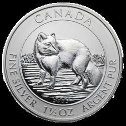 ROYAL CANADIAN MINT  SILVER ARCTIC FOX