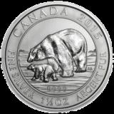 Royal Canadian Mint Silver Polar Bear & Cub