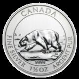 Royal Canadian Mint Silver Polar Bear