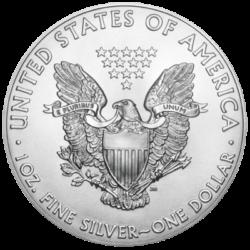 UNITED STATES MINT  SILVER AMERICAN EAGLE 1 OZ