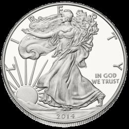 silver American eagle 1 oz