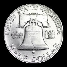 silver-franklin-half-dollar-silver-back