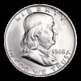 United States Mint Silver Franklin Half Dollar