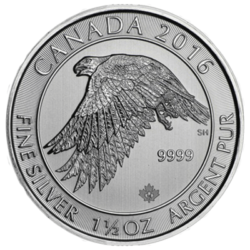 ROYAL CANADIAN MINT  SILVER GYRFALCON**