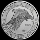 Royal Canadian Mint Silver Gyrfalcon