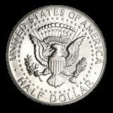 United States Mint Silver Kennedy Half Dollar BU 1964