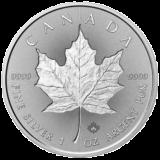 ROYAL CANADIAN MINT  SILVER MAPLE LEAF