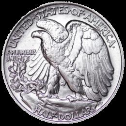 United States Mint Silver Walking Liberty Half Dollar