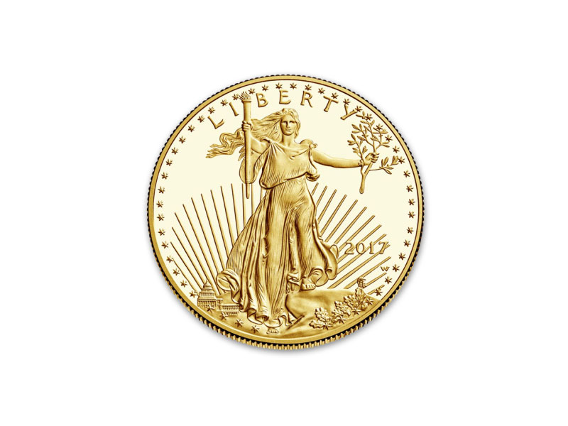 Gold and silver product - AMERICAN EAGLE 1 OZ. GOLD PROOF COIN