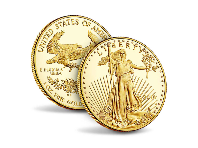 Gold and silver product - GOLD AMERICAN EAGLES