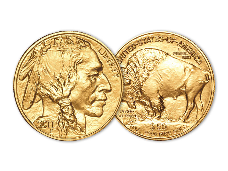 Gold and silver product - AMERICAN BUFFALO