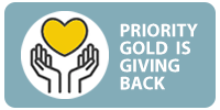 Priority Gold - Giving Back to Community