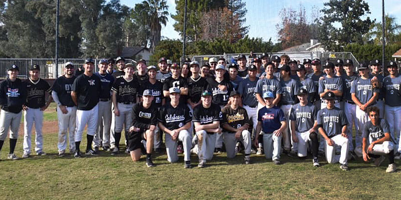 Priority Gold's Community Outreach - Donation to Calabasas High School Base Ball Program