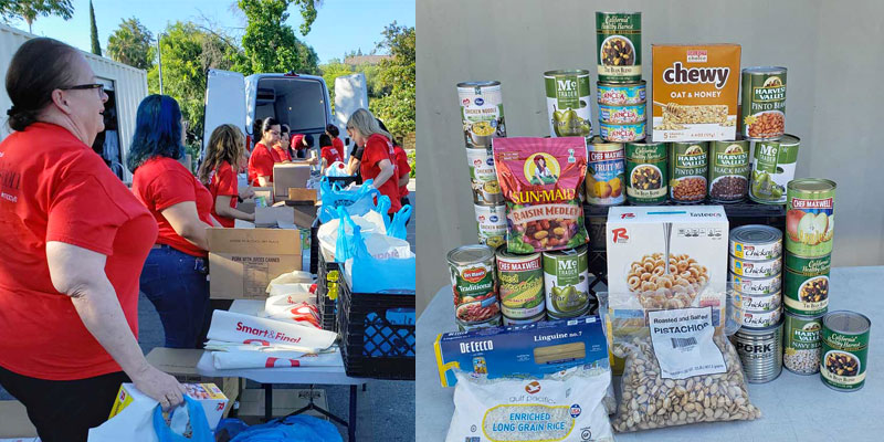 Priority Gold's Community Outreach - Donation to West Valley Pantry