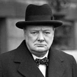 Sir Winston Churchill - British Prime Minister 1945