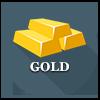 Precious metals - gold ingots