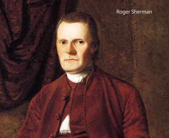 Roger Sherman, United States Senator (1793) and Author of Article 1, Section 10 of the United States Constitution