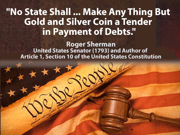 Gold and Silver Coin a Tender in Payment of Debts