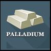 Precious metals - Palladium ingots