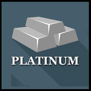Precious metal - Platinum ingot
