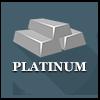 Precious metals - Platinum ingots