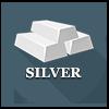 Precious metals - silver ingots