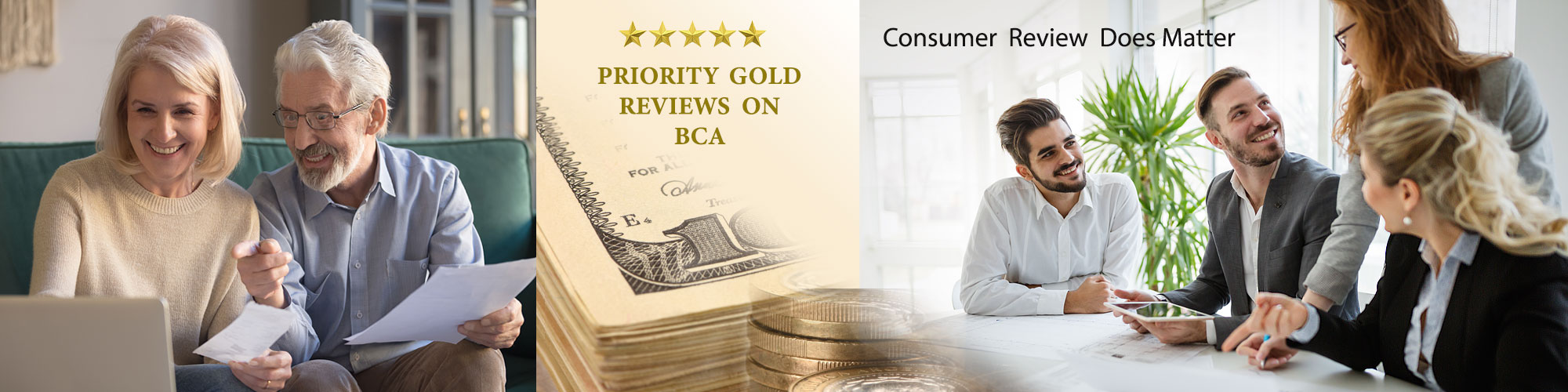 Priority Gold Reviews on Business Consumer Alliance
