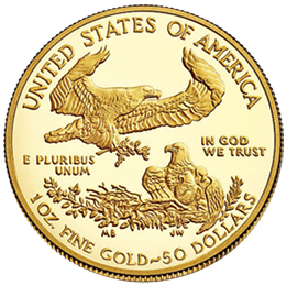 Gold coin - American Eagle