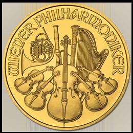 Gold coin - Austrian Philhamonik