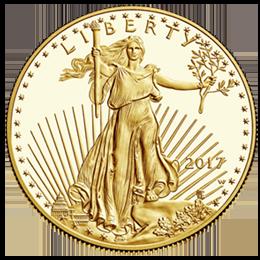 Gold coin - Liberty
